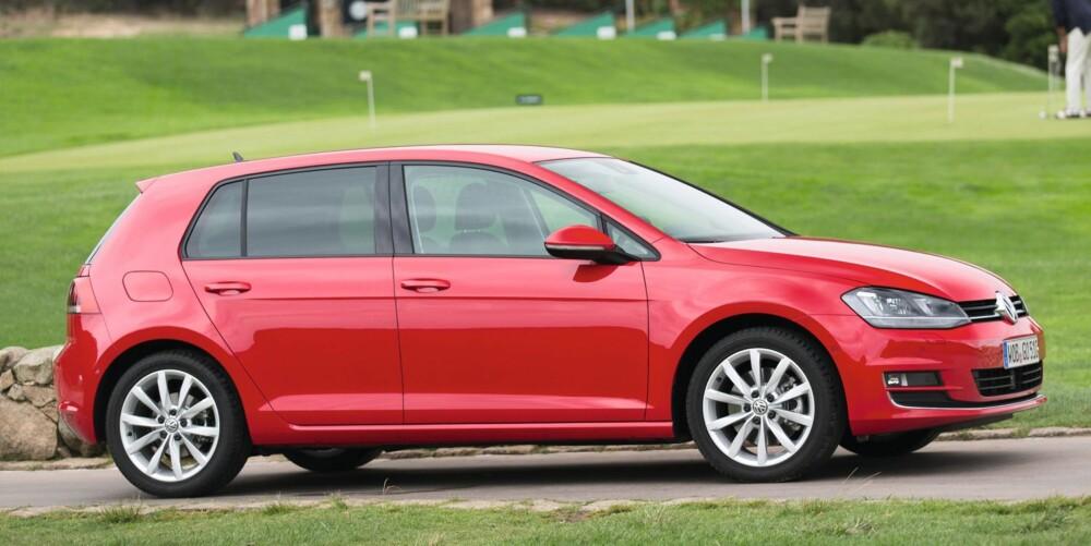 4X4: VW Golf Highline 1,6 105 hk TDI 4MOTION kan bli en interessant modell sett med norske øyne. FOTO: VW