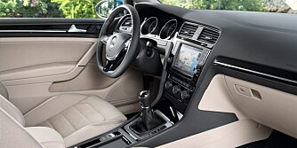 TYPISK: Kjent, og antakeligvis ganske kjære takter i førermiljøet. FOTO: VW