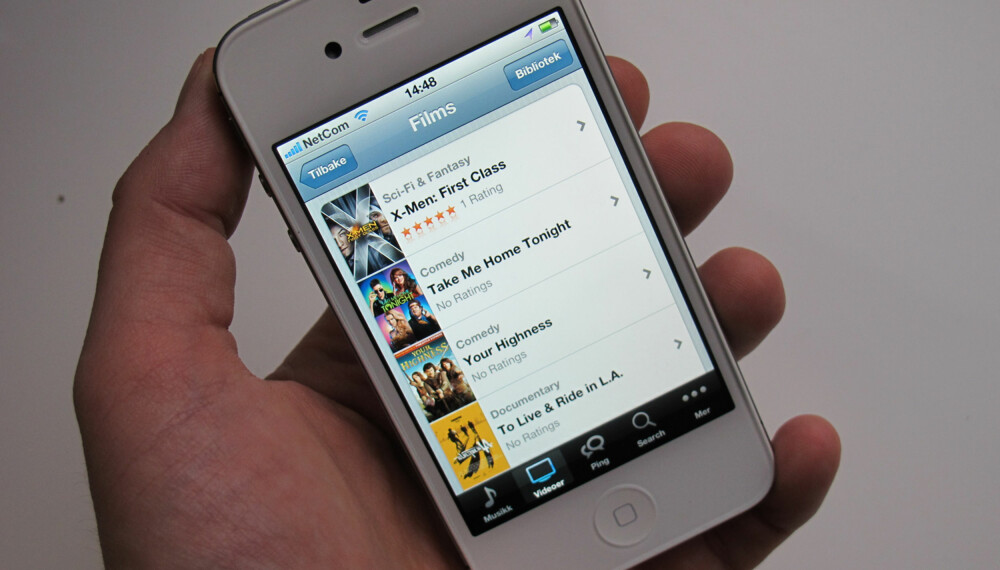 FILM: Du får nå filmleie på iTunes.