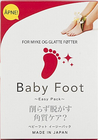 Baby Foot: Fotpleie i eske.
