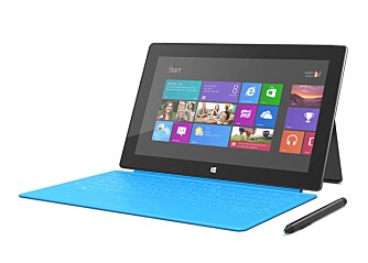 Microsoft Surface Windows RT med Touch Cover