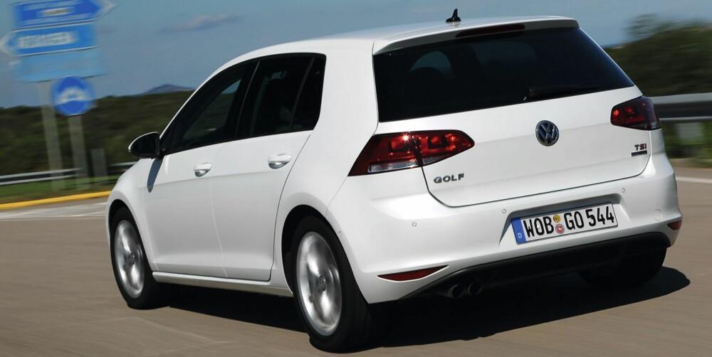PRØVEKJØRT: VW Golf med 1,4 TSI og 140 hk. FOTO: VW
