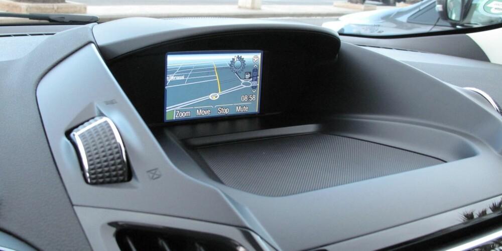 TREND: Med rimeligste utstyrsnivå får du blant annet cruise controll, nøkkelfri start, radio/cd, bakkestartassistanse, elektrisk justerbare og oppvarmede sidespeil og kjørecomputer. FOTO: Petter Handeland
