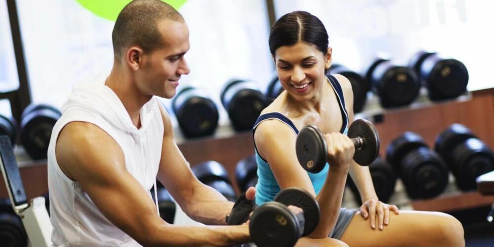 INTENST: De som trener 45 - 75 minutter i uken med høy intensitet har bedre oksygenopptak enn de som trener 30 minutter hver dag med moderat intensitet.