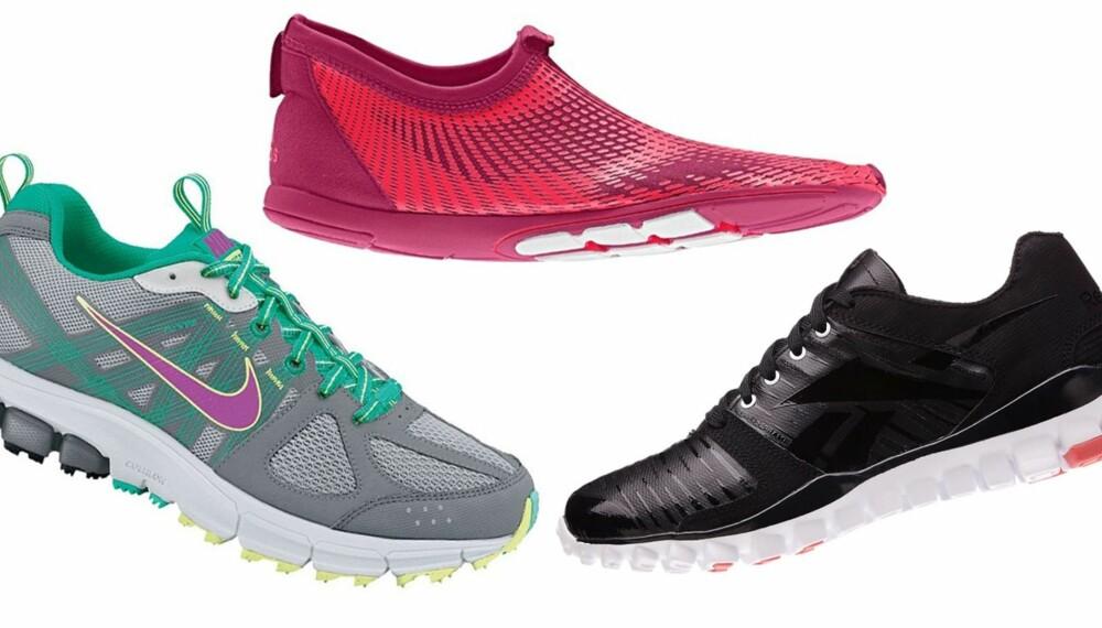 TIL ETVHER BRUK: Joggesko kan anvendes både til trening og hverdagbruk. Finn dine nye favoritter blant disse 20 skoene.