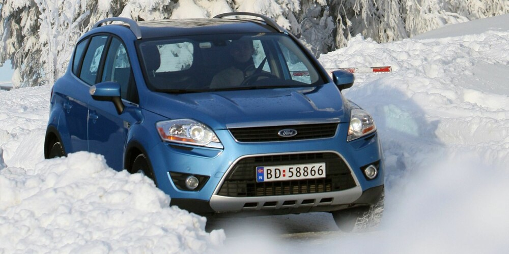 Ford Kuga 2008-2012. FOTO: Egil Nordlien, HM Foto