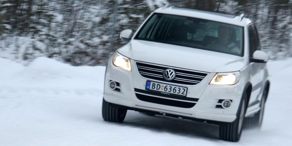 VW Tiguan 2008-2012. FOTO: Egil Nordlien HM Foto
