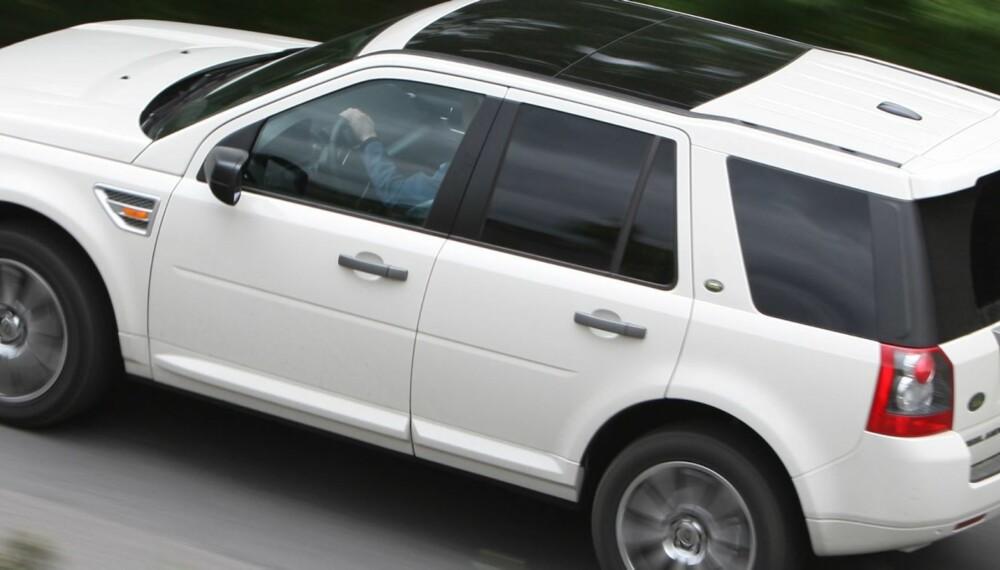UPÅLITELIG: Land Rover er det klart mest upålitelige merket i undersøkelsen. Foto: Egil Nordlien, HM Foto