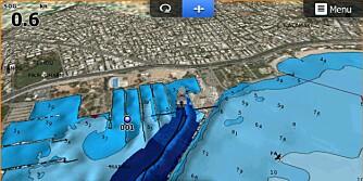 NYTT: Samtidig kan havbunnen kartlegges som her på bildet, og dataene deles med andre brukere.