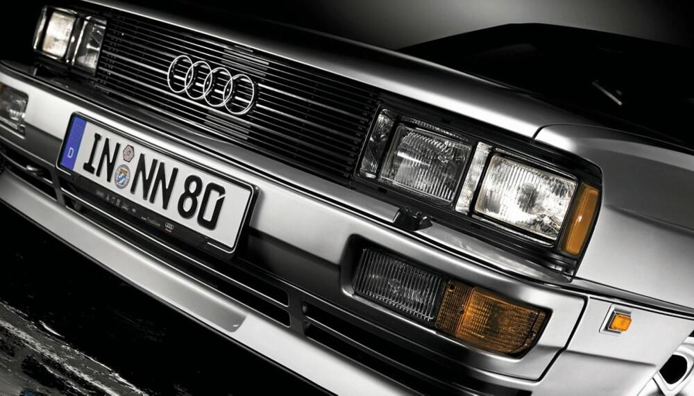 4X4: Audi quattro, ofte også kalt, Urquattro, ble produsert i tidsrommet 1980-1991, og i et anselig antall av drøye 11 000 biler. Hva med Norge? Kun fem quattro ble tatt inn av importør Harald A. Møller AS.