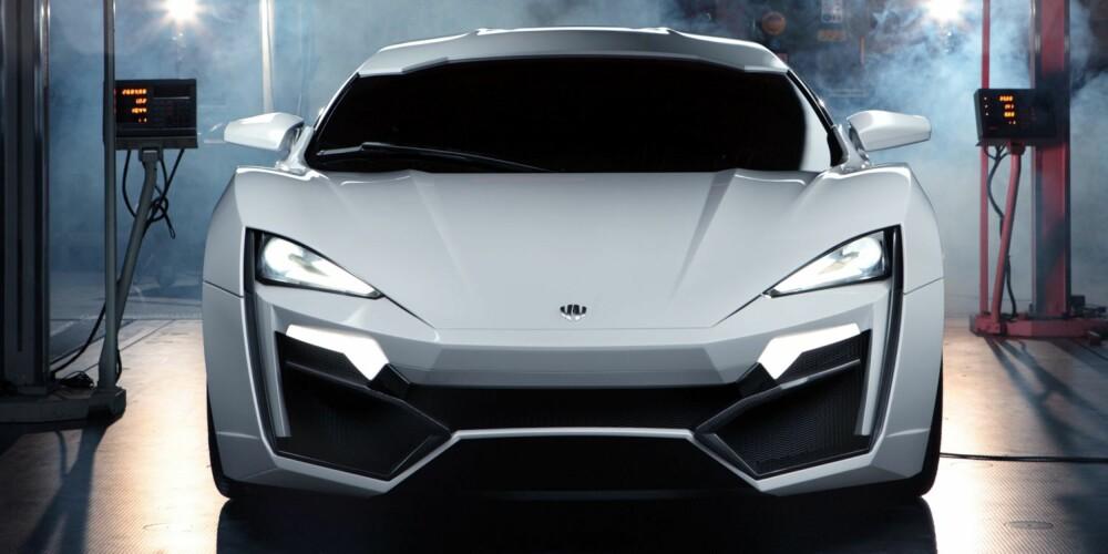 LYKKE: Lykan er araberverdenens første superbil. FOTO: W Motors