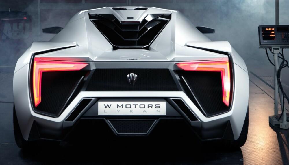 VERDENS DYRESTE: Lykan Hypersport er nå verdens dyreste bil. Det skal kun produseres syv stykker. FOTO: W Motors