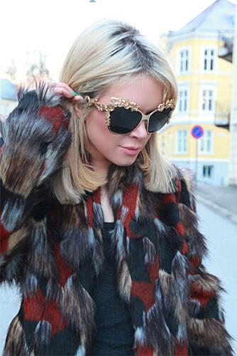 HAR SHOPPING SOM JOBB: Superblogger Ulrikke Lund synes det er litt flaut å regne sammen hvor mye hun egentlig bruker på klær i året.
