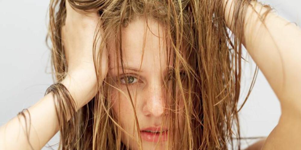 SLIK FÅR DU SUNT HÅR: Det du spiser påvirker håret ditt mer enn du tror.
