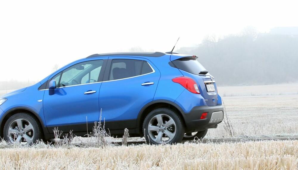 TØFF PAKKE: Opel Mokka går rett inn i slaget om SUV-kundene. Prisene starter på 240 000 med forhjulsdrift, 304 000 med 4WD.