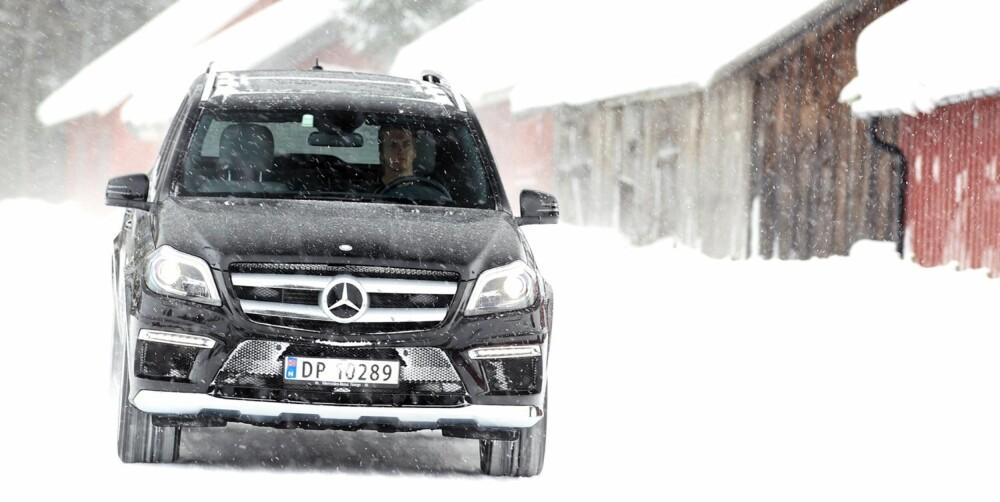 Mercedes GL. FOTO: Egil Nordlien, HM Foto