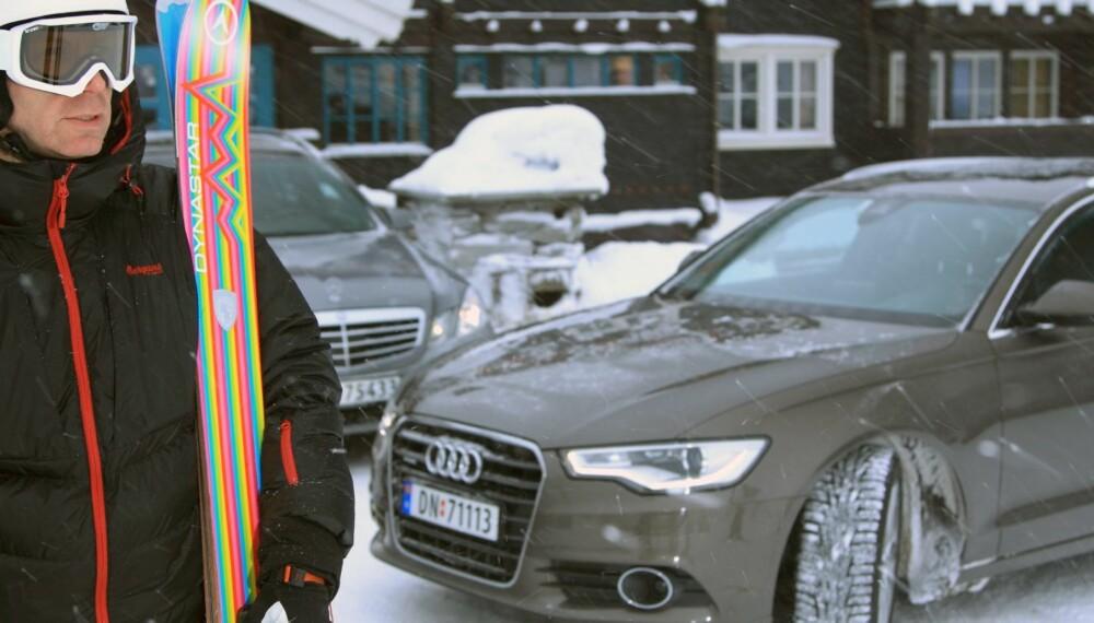 4WD: En undersøkelse som TNS Gallup har gjennomført viser at nordmenn synes biler med 4WD kjennes sikre og trygge på vinterføre. FOTO: Egil Nordlien, HM Foto