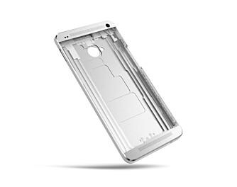 SOLID: Mobilkroppen er frest ut av ett stykke aluminium, og One kjennes unektelig solid ut.
