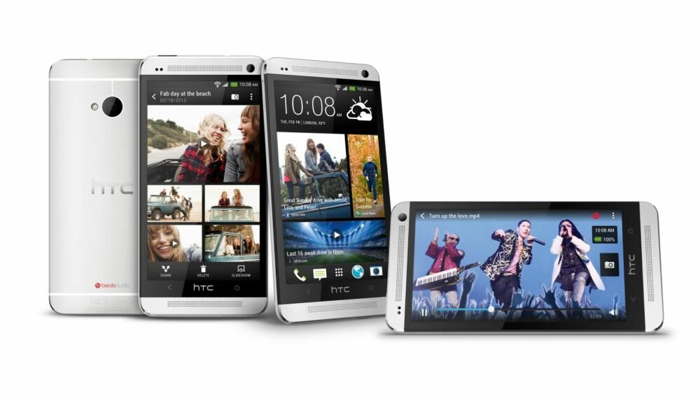 FLAGGSKIP: HTC One er selskapets toppmobil.
