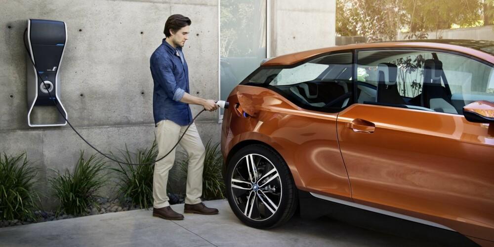 ELBIL: BMW i3 skal bli en urban elbil. FOTO: Steffen Jahn