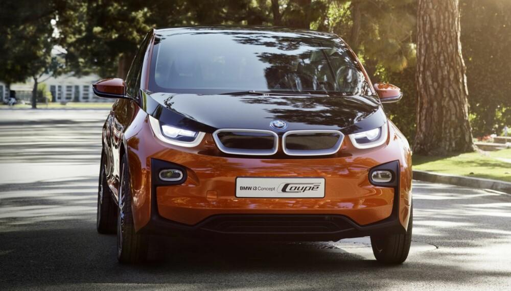 SISTE KONSEPT: Consept Coupé heter den kanskje siste konseptutgaven av i3 før bilen kommer i produksjonsferdig utgave. Bilen er ventet til Norge senere i år. FOTO: Steffen Jahn