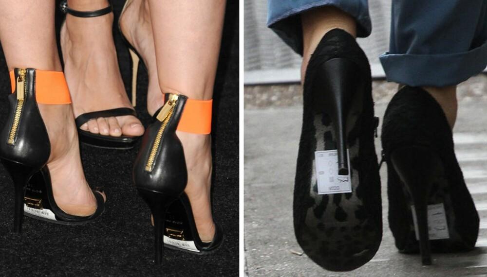 EN FEST FOR FØTTENE: Våren er proppfull av herlige sko i alle farger og fasonger. Likevel finnes det et par klassiske tabber som kan være greie å styre unna. - Det verste jeg ser er de som glemmer å fjerne prislappen som ofte er festet under skosålen, sier stylist og moteblogger Thao Kakao.