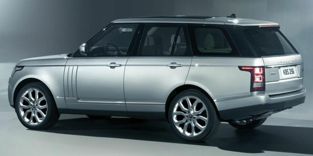 KJENT STIL: I den utvendige designen er hovedtrekkene fra forgjengeren beholdt. FOTO Land Rover