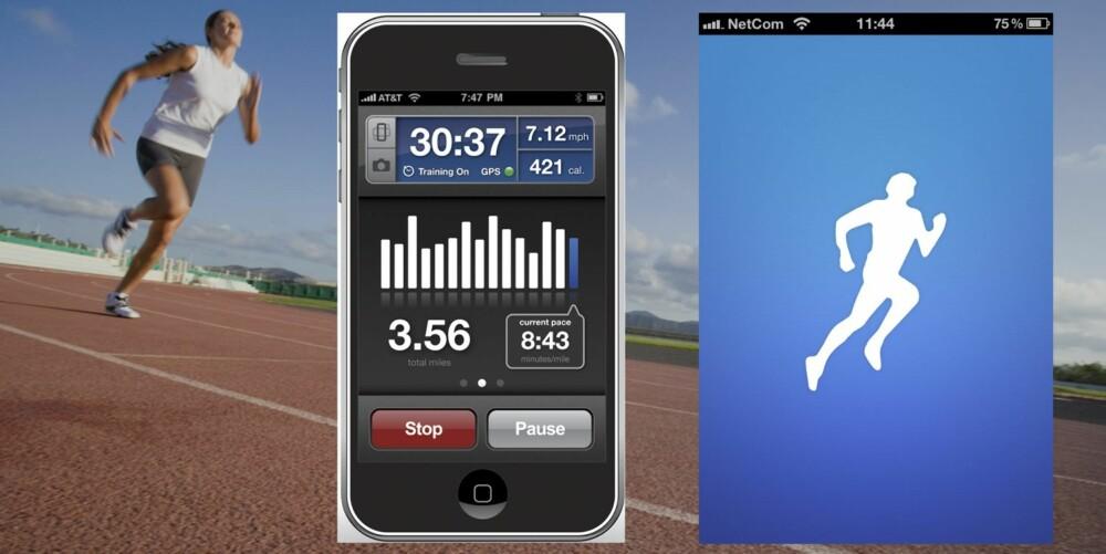 RUNKEEPER: Passer best for: Deg som ønsker litt mer detaljer rundt løpeturen din enn det Nike+ kan tilby.