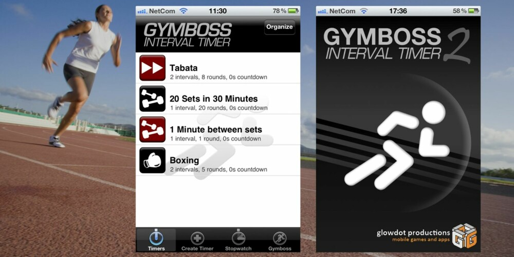 GYMBOSS: Passer best for: Deg som skal trene intervaller i alle former og fasonger.