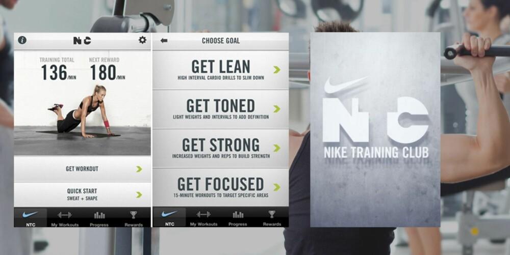 NIKE TRAINING: Passer best for: Nybegynnere på treningsstudio, eller deg som trenger variasjon i treningen din.