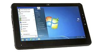 IPAD-KONKURRENT: Kan denne hamle opp med iPad? I November kommer nederlandske AT Technologies med en touchpad basert på Windows Home Premium.