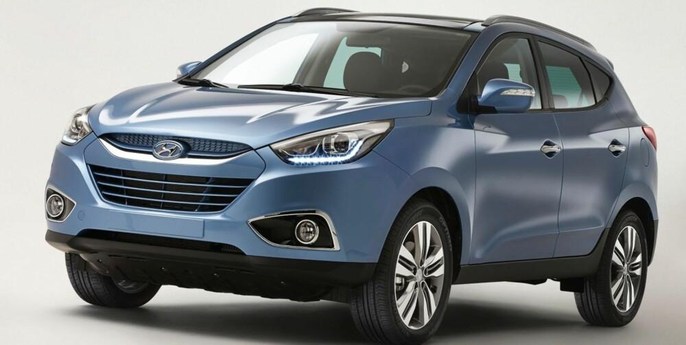 FORNYES: Hyundai ix35. FOTO: Hyundai