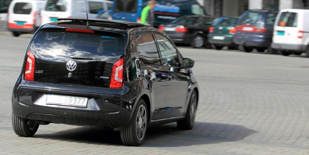 KJØRER BRA: Up har kjøreegenskaper som egentlig tilhører i klassen over. Det vil si at den er både stødig og trygg på veien.
