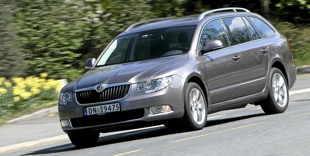 Skoda Superb stv.