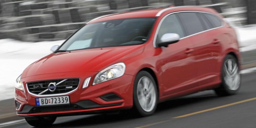 DESIGN: Tyske Volvo-eiere liker utseendet til V60. FOTO: Egil Nordlien, HM Foto