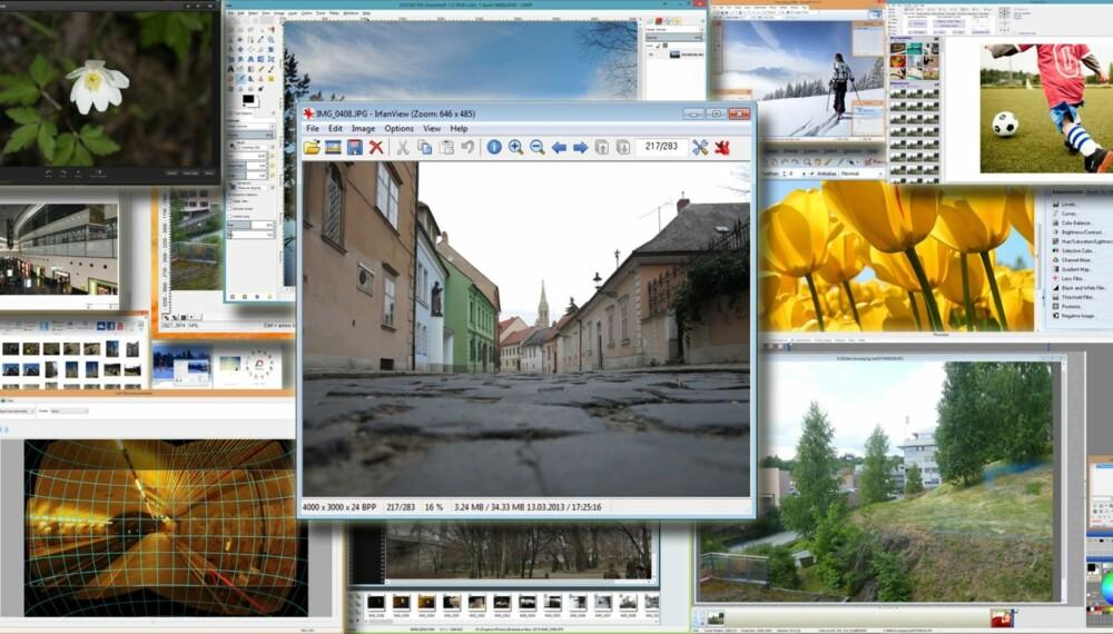 GRATIS: Nettet flommer over av gratis programvare. Her er 15 av våre favoritter blant gratis fotoprogrammer.