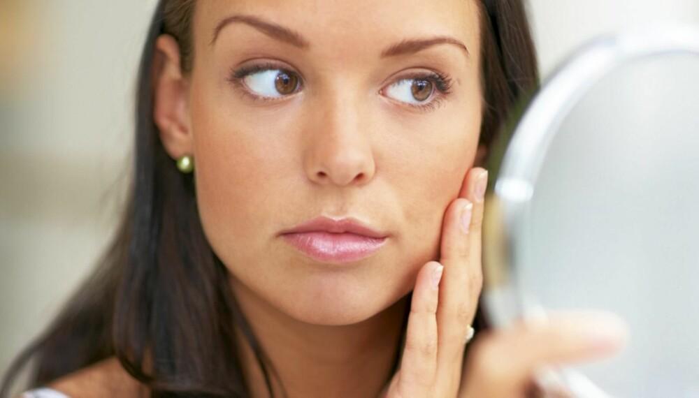 HÅRFJERNING I ANSIKTET: Laser fjerner ansiktshårene permanent, men fungerer ikke på lyse hår.