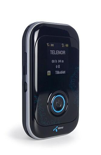 4G-RUTER: Med Telenors 4G-ruter, ZTE MF91D, kan du enkelt dele 4G-dekningen til alle enhetene dine via trådløst nettverk.