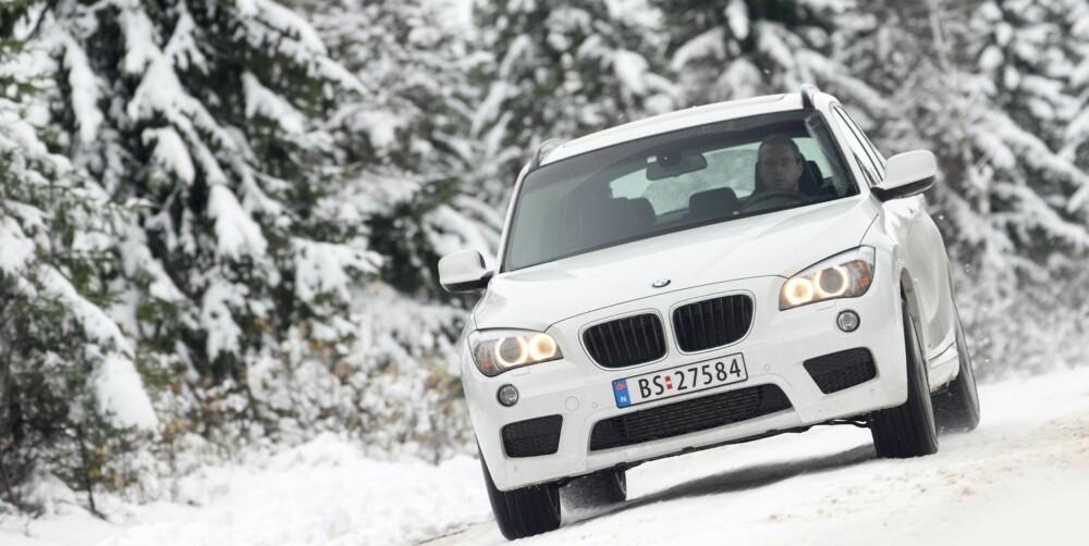 SUV: BMW X1 er den beste SUV-en, ifølge Dekra. FOTO: Egil Nordlien, HM Foto
