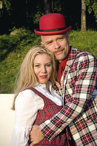 HELL I KJÆRLIGHET Anbjørg og ektemannen Jon feiret nylig 11-års bryllupsdag.
