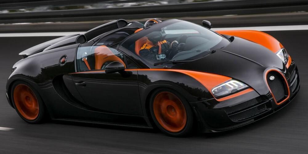 VERDENSPREMIERE: WRC-Grand Sport Vitesse skal vises frem på bilutstillingen i Shanghai senere i april. FOTO: Bugatti