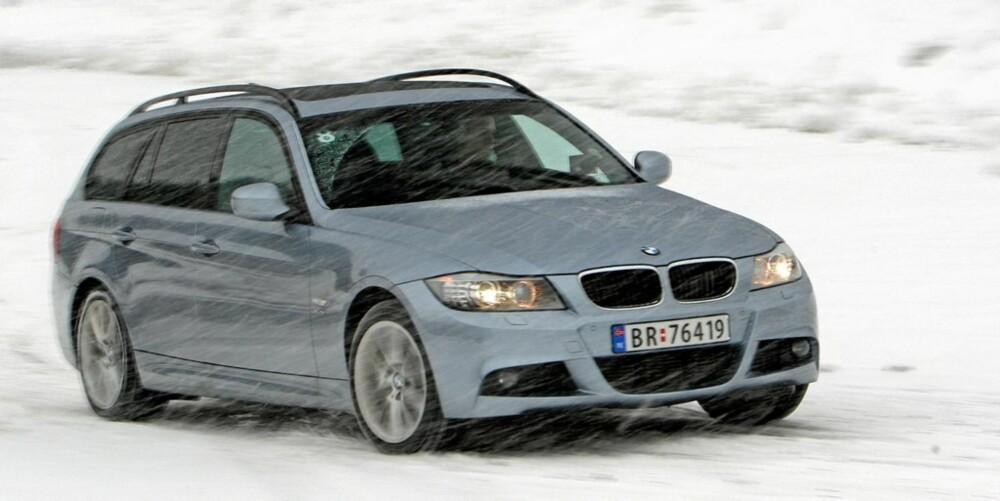 SOLID: BMW 3-serie. FOTO: HM Arkiv