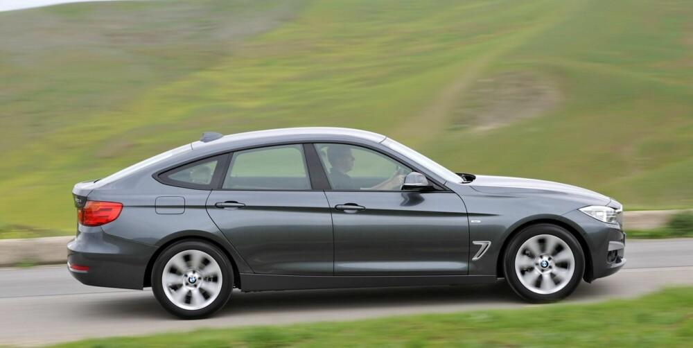 PEN? Meningene er sikkert delte, men vi synes 3-serien GT har fått fine linjer. FOTO: BMW/Richard Newton