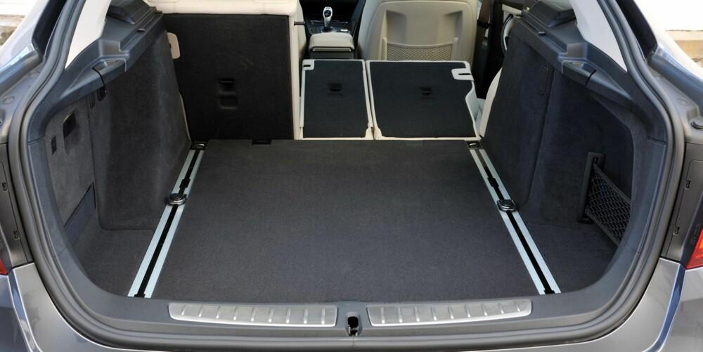 BEST PLASS: 3-serie GT er den versjonen av 3-serie som tilbyr best bagasjeplass. FOTO: BMW/Richard Newton