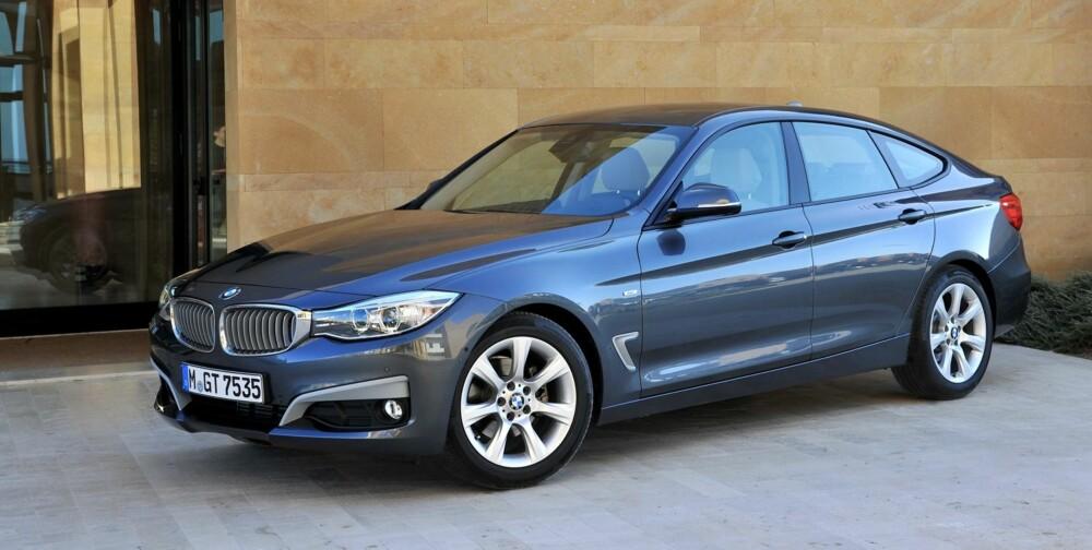"""CRUISER: Navnet """"""""Gran Turismo"""""""" forplikter. I hvilken grad den takler de lange sugende turene vet vi ennå ikke. FOTO: BMW/Richard Newton"""