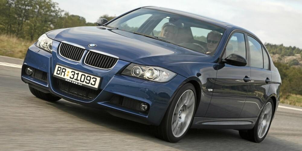 3-SERIE: BMW 3-serie er ikke bare morsom å kjøre, den overbeviser også i teknisk kvalitet.