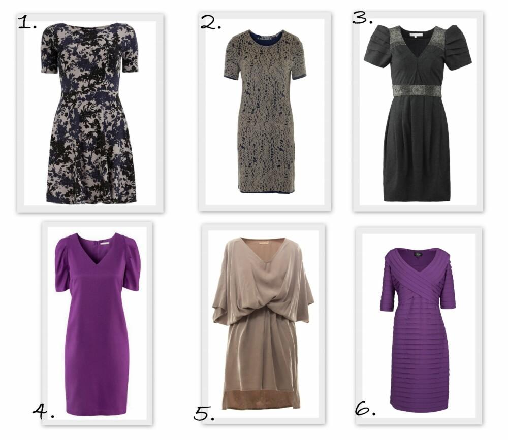 1a5d500cff19 KORTERMEDE KJOLER  1. Grey Floral Print Flare Dress fra dorothyperkins.com  (ca