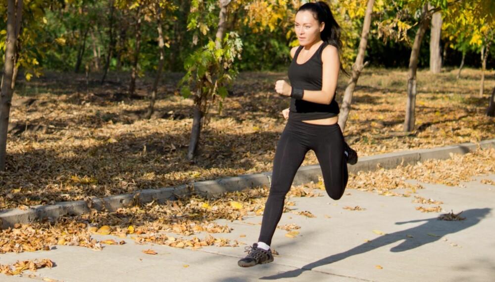 RASKERE: Spensttrening er supert for å forbedre teknikken og få fart på løpingen.