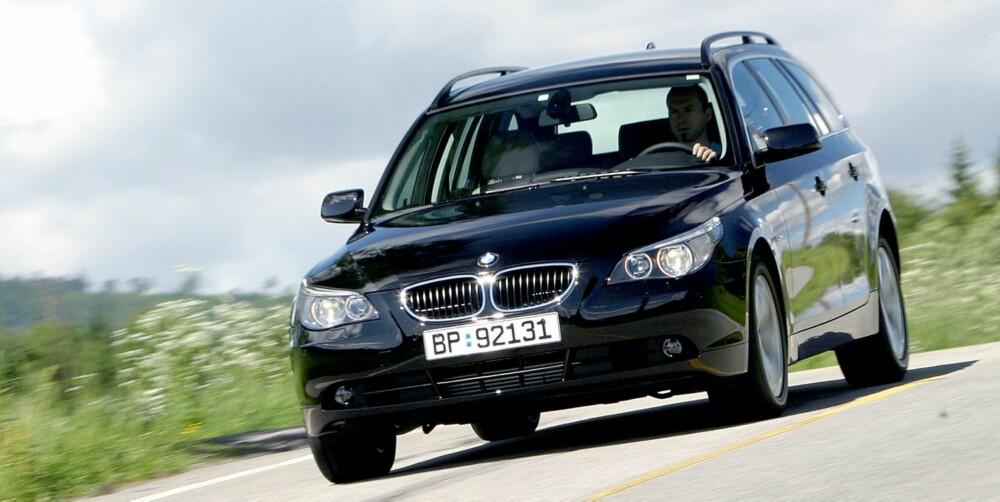 5-SERIE: 9,6 prosent av BMW 5-serie har større feil eller mangler. FOTO: Egil Nordlien, HM Foto
