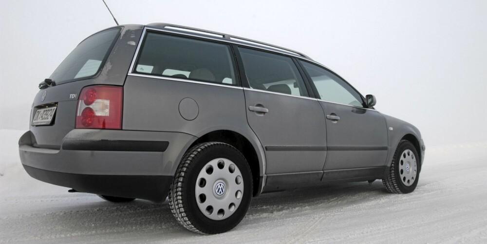 HOLDER SEG: VW Passat av forrige generasjon er bedre enn snittet i alle kategoriene. FOTO: Terje Bjørnsen
